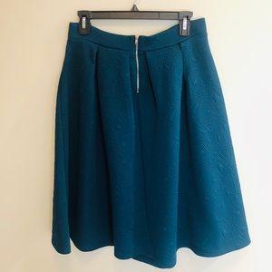 Forever 21 Skirts - Floaty A-Line Midi Geometric Print Skirt